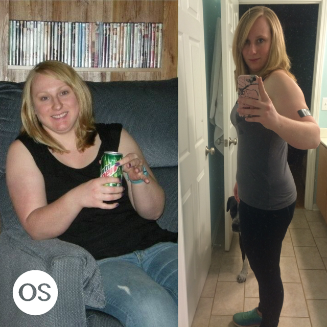 Meet Christy – Physically AND mentally stronger than ever and down 30 lbs