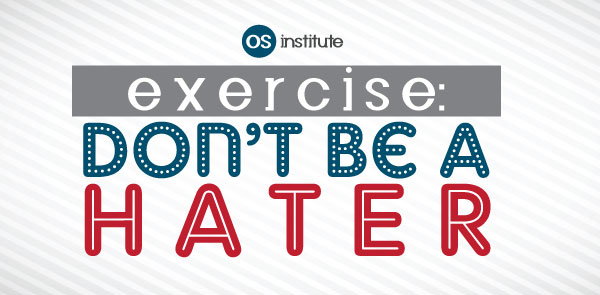 Exercise: Don't Be a Hater
