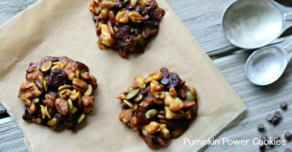 Pumpkin Power Cookies